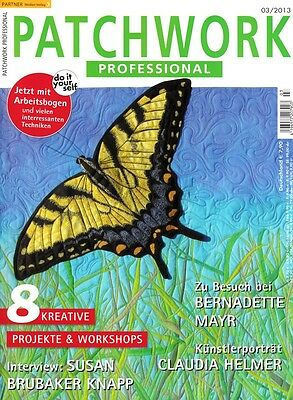 Patchwork Professional # 03/2013 - 8 Kreative Projekte & Workshops
