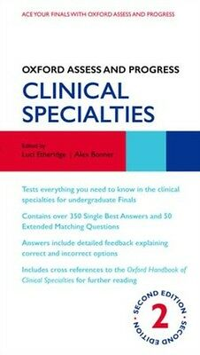 Oxford Assess and Progress: Clinical Specialties 2/e (Paperback),. 9780199657582