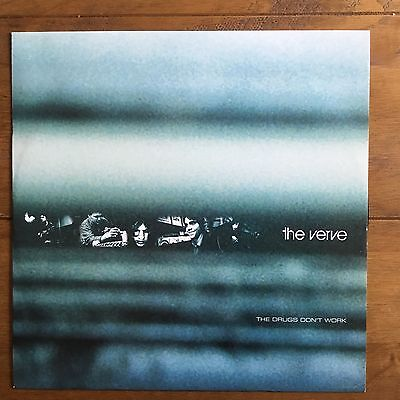 """The Verve - The Drugs Don't Work 12"""" Vinyl"""