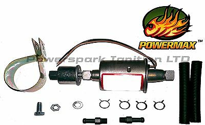 Universal Electric In-line Low Pressure Carburettor Fuel Pump 2.5-4.5 psi WFP502