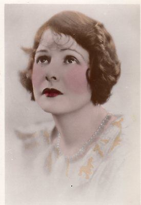 Vintage Postcard Miss Norma Talmadge Edwardian Actress Glamour Hand Coloured Rp