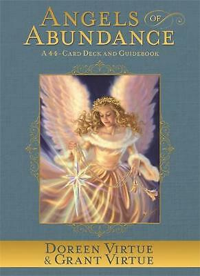 Angels of Abundance Oracle Cards: A 44-Card Deck and Guidebook by Doreen Virtue