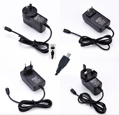 5V 3A Micro USB AC Adapter DC Wall Power Supply for Raspberry Pi /Switch Braw