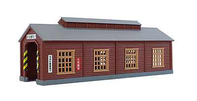 Rokuhan S051-2 Z Scale Wood Engine House (Brown) (1/220 Z Scale)