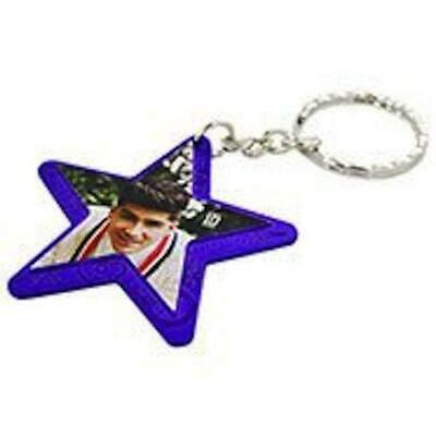 One Direction Interactive Jewellery - Star Keyring - Purple - Zayn - New