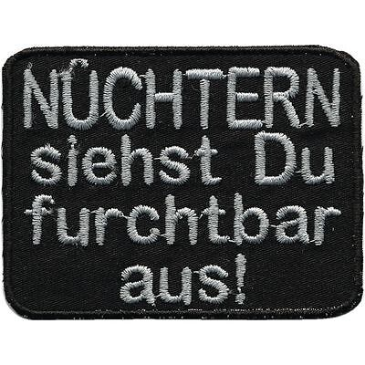 Aufnaeher Patches Applikation Stickemblem 9,1 x 4,5 cm Auto Oldtimer gold 05423