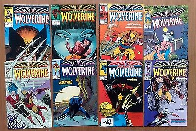 Job Lot Of 8 Issues Marvel Comics Presents Wolverine #2,3,5,6,7,8,9,10 All Fine