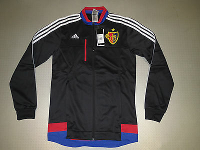 Casual Anthem Jacket FC Basel 15/16 Orig. adidas Size S M L XL new Track Top