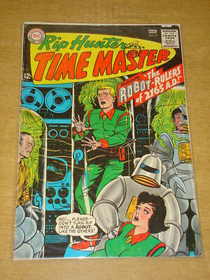 Rip Hunter Time Master #27 Vg (4.0) Dc Comics August 1965 **