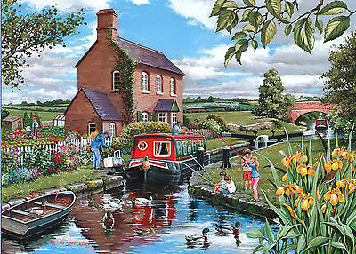 The House Of Puzzles - 500 PIECE JIGSAW PUZZLE - Keeper's Cottage Unusual Pieces