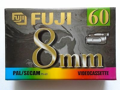 FUJI MP P5-60 DS VIDEO 8mm / Hi8 Video Camcorder Tape / Cassette (High Quality)