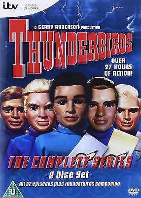 Thunderbirds Classic  Complete Collection 9 Disc Box Set DVD Region 2 Europe New