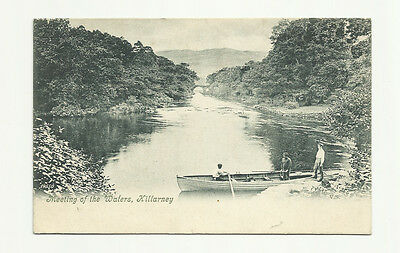 EARLY 1900's TOPOGRAPHICAL P.C. MEETING OF THE WATER KILLARNEY KERRY IRELAND
