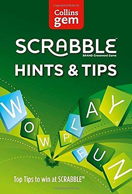 Scrabble Hints and Tips (Collins Gem) Paperback Book - 9780007538003