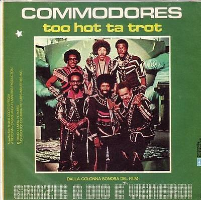 Thank God It's Friday -Commodores- Italy 45- Ost Motown Soul Disco Funky