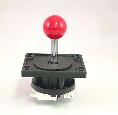 Happ Competition 8 Way  Ball Top Joystick  - Red