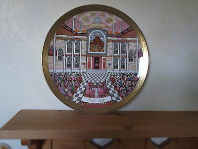 Royal Doulton `Celebration of Faith`Plate - Rosh Hashanah Judaica