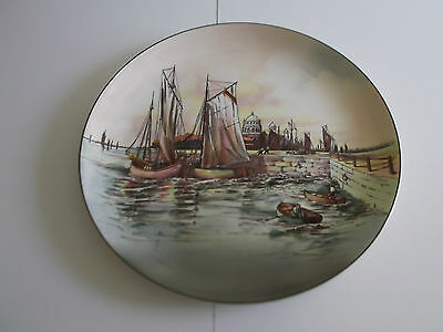 Royal Doulton Series Ware Home Waters (12.75 inches) Charger Plate (Very Rare)