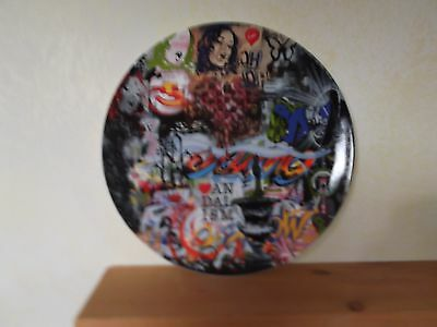 Royal Doulton Street Art Mood Board Plate LTD Edition of 2000 COA Original Box