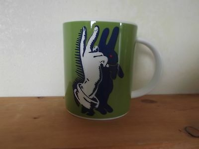 Royal Doulton Street Art Pure Evil Bunny Fingers Mug includes Original Box