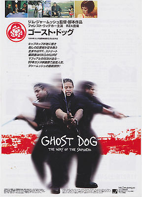 Ghost Dog Way of the Samurai 1999  Forest Japan Chirashi Mini Movie Poster