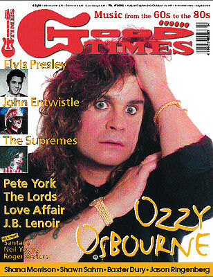 GoodTimes 4-2002 Ozzy Osbourne, Pete York, Lords, John Entwistle, Love Affair