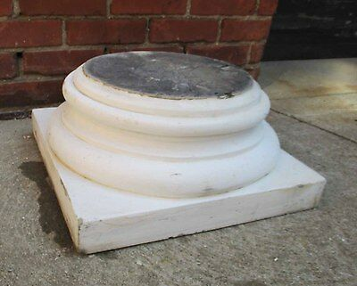 Antique Sandstone Column Base - Plant Stand - Pedestal - Architectural Salvage