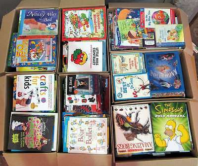3000+ Mixed Children's Books Pallet. Job Lot / Wholesale - Free Delivery!
