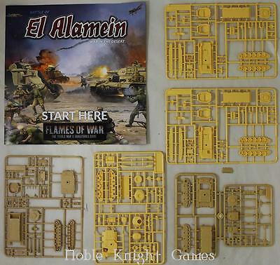 Battlefron FoW WWII Rul Battle of El Alamein - War in the Desert (Demo Box MINT