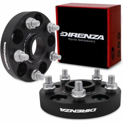 25Mm Direnza Hubcentric Wheel Spacers 5X114.3 For Subaru Impreza Wrx Sti Ra P1