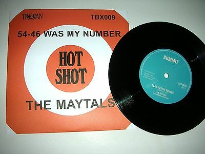 The Maytals - 54-46 Was My Number  /  Pressure Drop
