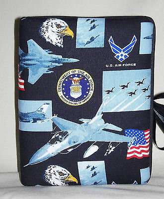 """United States Air Force Handcrafted Handmade Photo Album Holds 80 4""""X6"""" - NEW"""