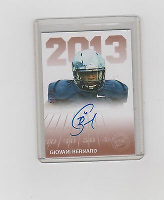 2013 Ray Graham    Press Pass Signing Auto
