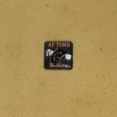 Af Time Tim Hortons Fast Food Cofe Donuts 2007 Canada Official Pin Old