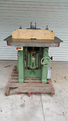 Shaper Wadkin Heavy Duty 5 Hp 3 Phase