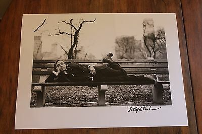 Iggy Pop Photograph Signed by Danny Clinch 9 X 12