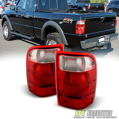 Fits 2001-2011 Ford Ranger Pickup Truck Tail Lights Brake Lamp Replacement 01-11