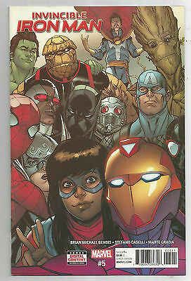 Invincible Iron Man # 5 * Near Mint