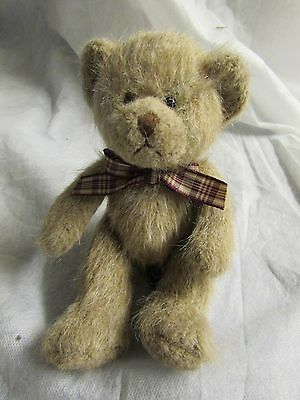 **LOOK** Mint Condition CAMERON Russ Berrie Teddy Bear Plush FREE P+P