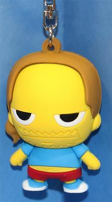 The Simpsons 3-D Figural Key-Ring / Chain Comic Book Guy