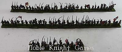 Lot Historical Loose Mini Confederate Infantry Advancing Collection #3 NM