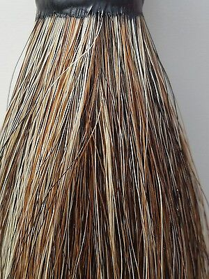 """*NEW Tail Extension DARK FLAXEN 1lb 36"""" Can be weighted! Made by KATHY'S TAILS"""