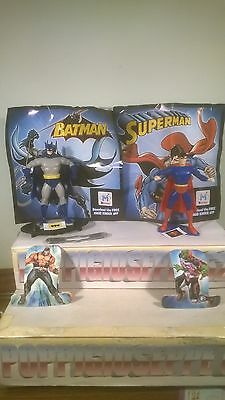 KINDER MAXI-BATMAN E SUPERMAN-FFZ -SERIE 2016 COMPLETA+cartine bpz  N°2