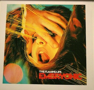 THE FLAMING LIPS Embryonic ALBUM PICTURE LITHOGRAPH POSTER 14x14