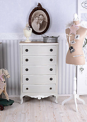 Vintage Chest Of Drawers Shabby Chic Wardrobe Drawer Cabinet Wooden Cabinet