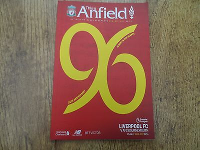 2016/17 - LIVERPOOL v AFC BOURNEMOUTH - PREMIER LEAGUE