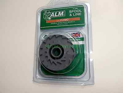 *free Post* Alm Flymo Fly021 Revolution Double Auto-Feed Models Spool & Line New