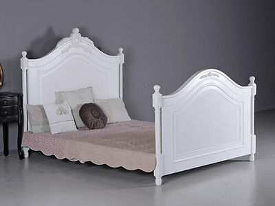 French Marital Bed Antique Double Bed Vintage Bed Shabby Chic