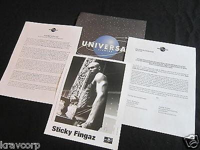 Sticky Fingaz 'Black Trash' 2001 Press Kit--Photo