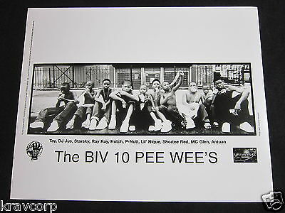 The Biv 10 Pee Wee'S—1999 Publicity Photo